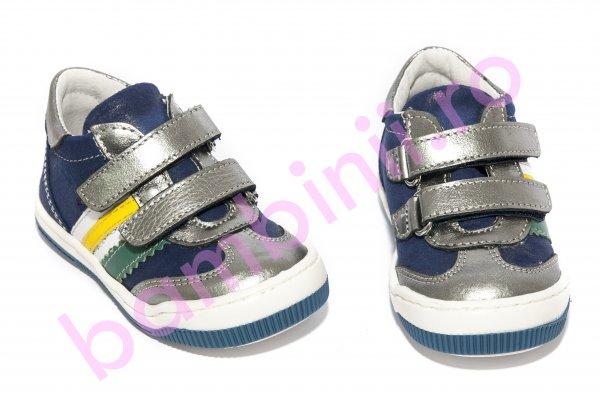 Pantofi baieti pj shoes Costa indigo 20-26