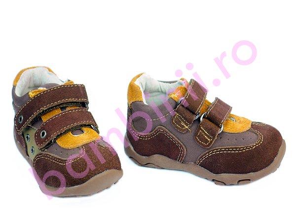 Pantofi copii sport 6042 maro