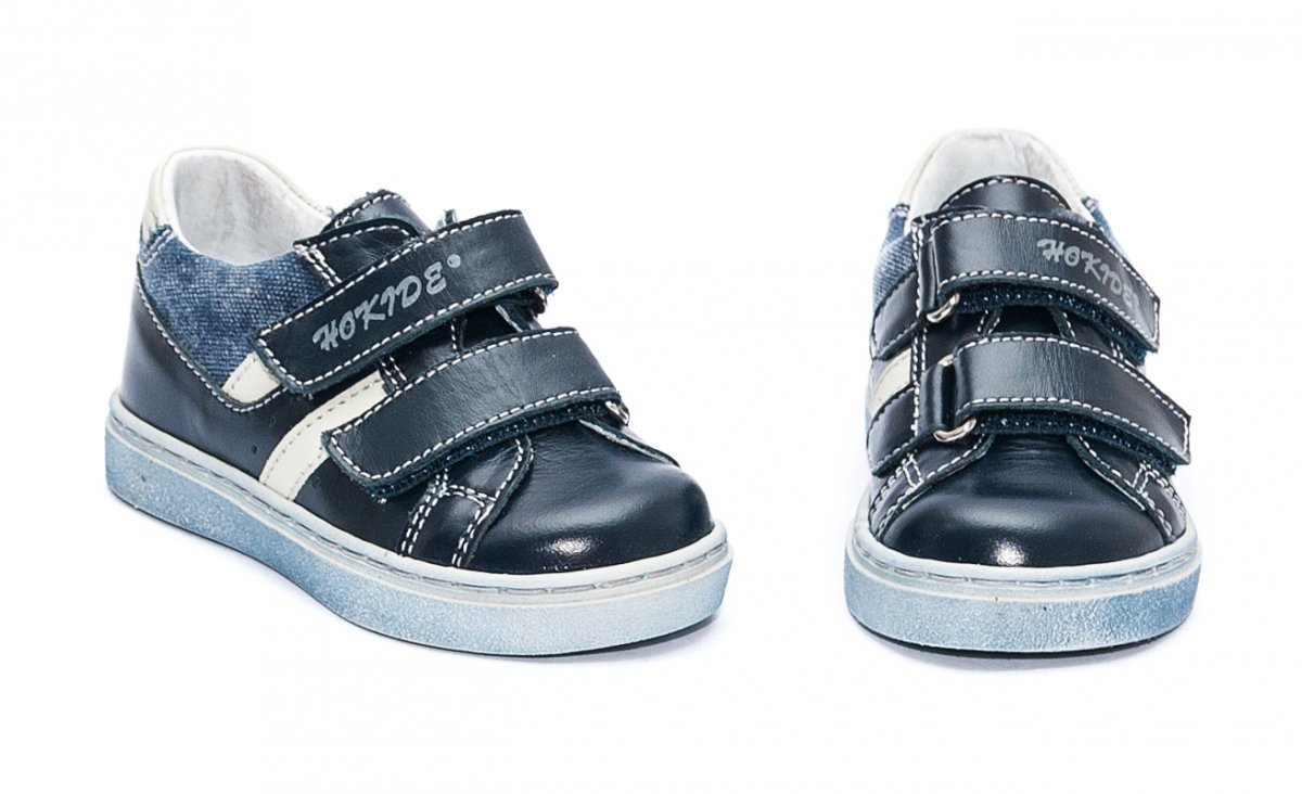 Pantofi baieti sport hokide 316 blu alb 22-27