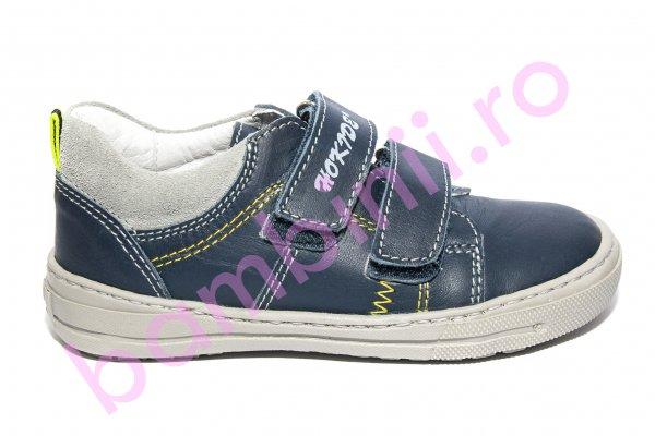 Pantofi baieti sport hokide 353 blu 26-30