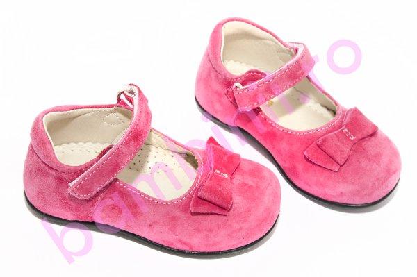 Pantofi balerini avus Camos fuxia 20-27