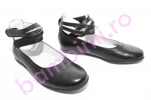 Pantofi balerini copii hokide 303 negru 26-37