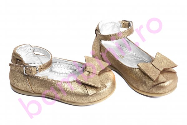 Pantofi balerini copii avus 70 auriu 20-27