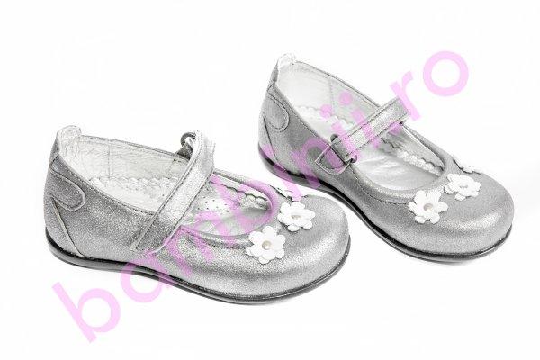 Pantofi balerini copii avus 71 gri