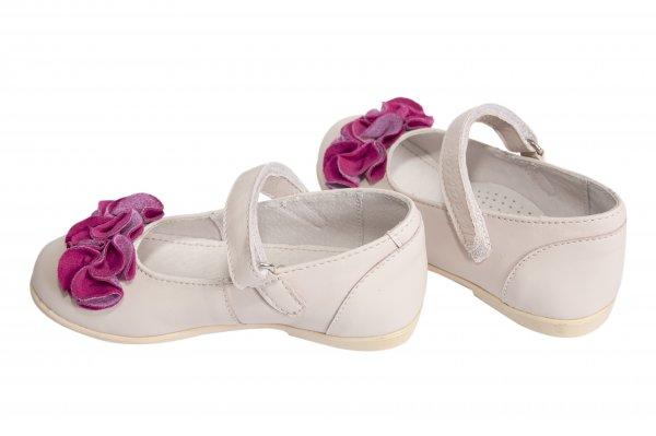 Pantofi balerini copii hokide 272 roz floare 26-35