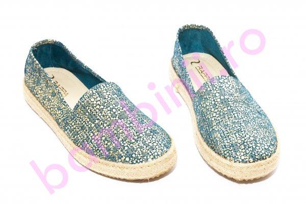 Pantofi balerini femei 656 albastru 36-40