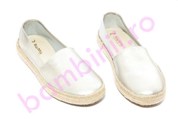 Pantofi balerini femei 656 argintiu 36-40