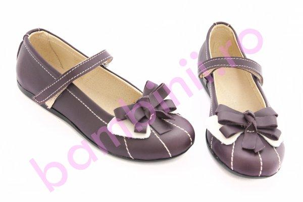 Pantofi balerini fete 1349 mov