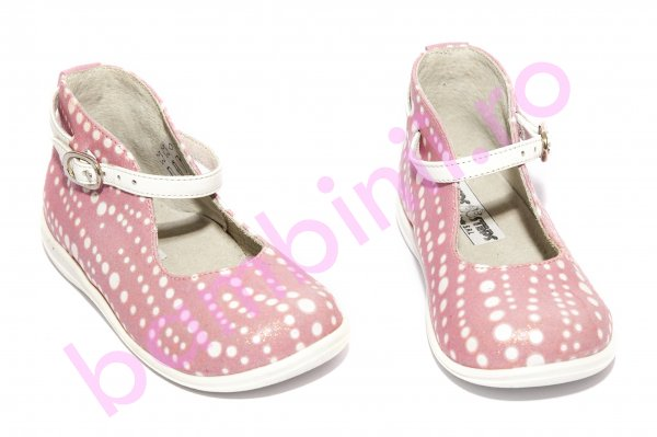Pantofi balerini fete 185 roz buline 18-25