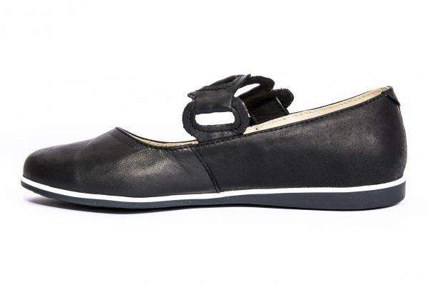 Pantofi balerini fete 639 negru new 26-36