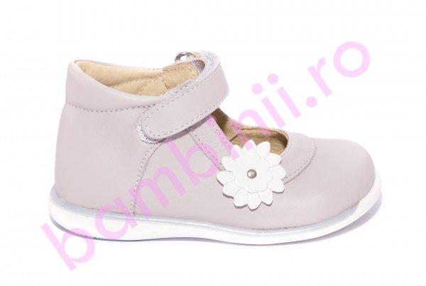 Pantofi balerini fete 746 lila alb 18-25