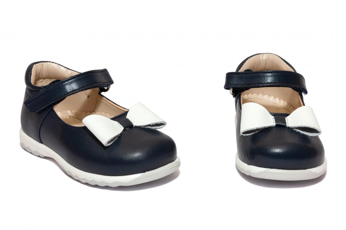 Pantofi balerini fete Avus 803 blu 19-26