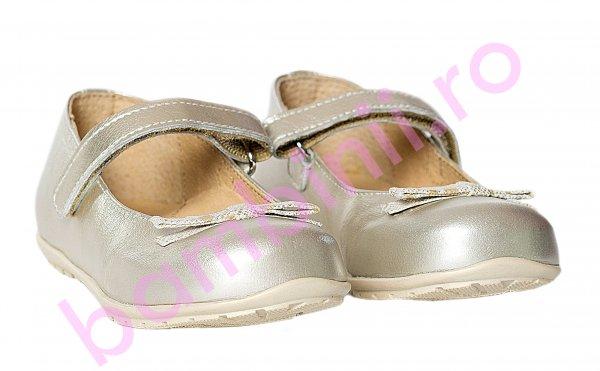 Pantofi balerini fete Candy auriu 20-26