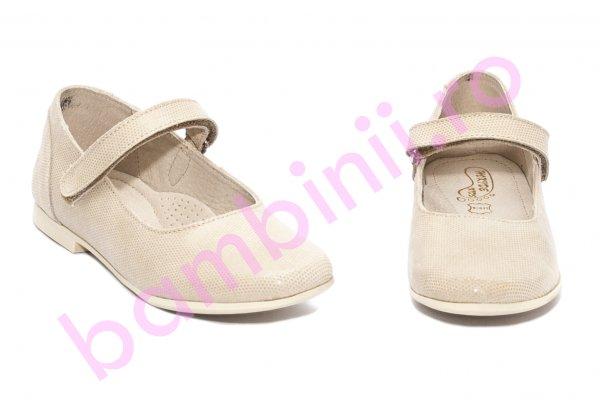 Pantofi balerini fete eleganti hokide 272 bej sidef 26-35
