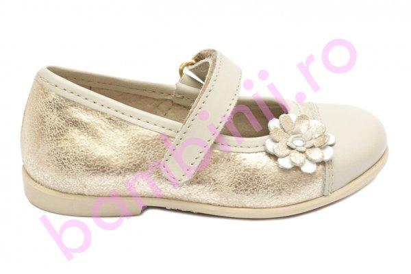 Pantofi balerini fete hokide 304 bej bej sidef 22-27