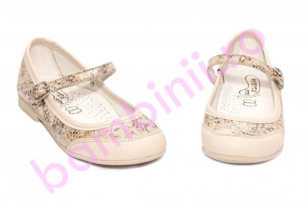 Pantofi balerini fete hokide 383 bej 26-36