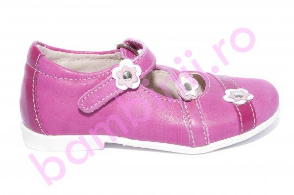 Pantofi balerini fete hokide 405 fuxia 20-27