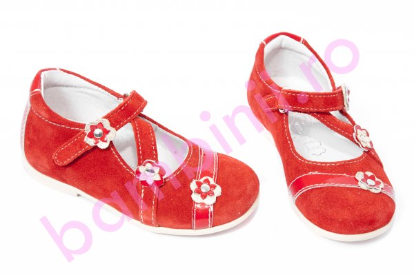 Pantofi balerini copii hokide 405 rosu 22-27
