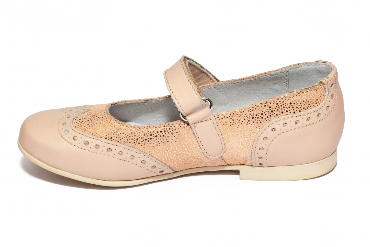 Pantofi balerini fete hokide 419 roz lux 26-35