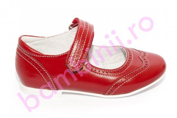 Pantofi balerini fete hokide 420 rosu 26-35