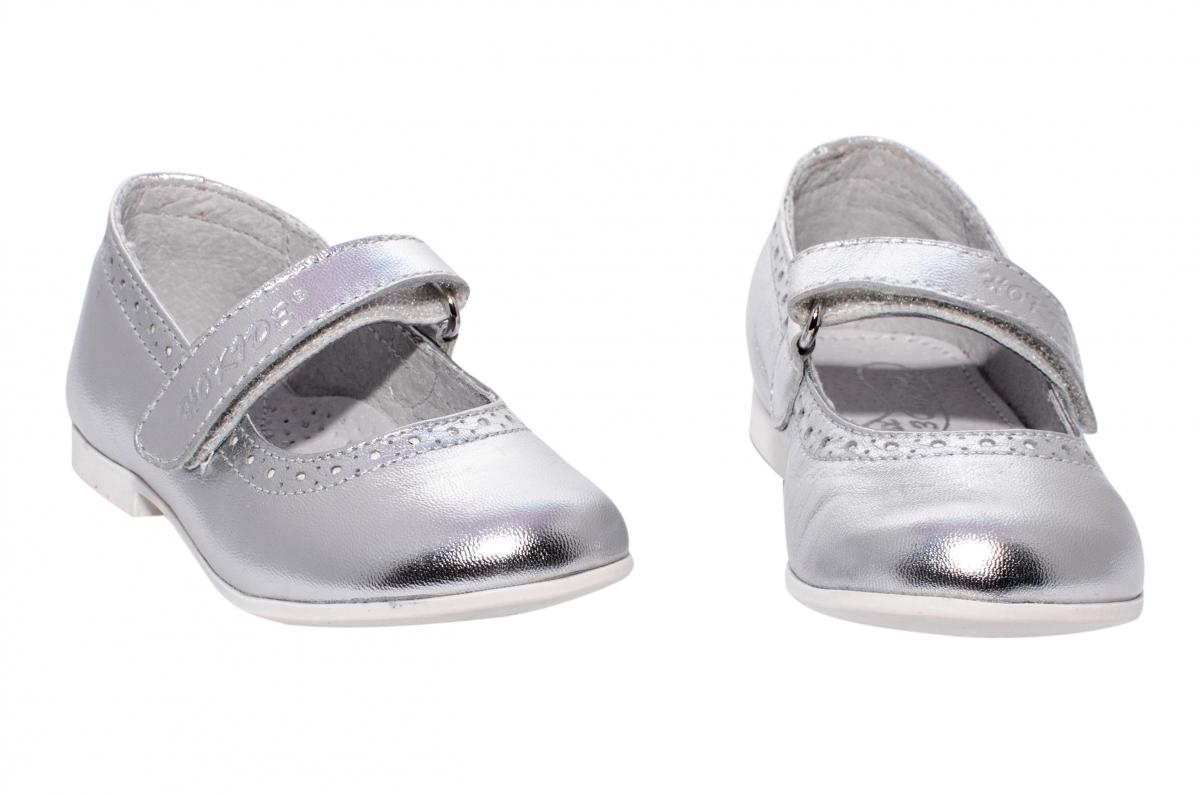 Pantofi balerini fete hokide 421 argintiu 22-27