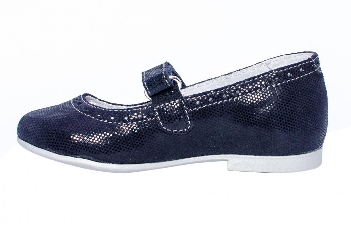 Pantofi balerini fete hokide 421 blu lux 26-35