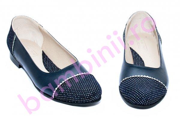 Pantofi balerini fete piele naturala 26 blumarin pipit 34-41