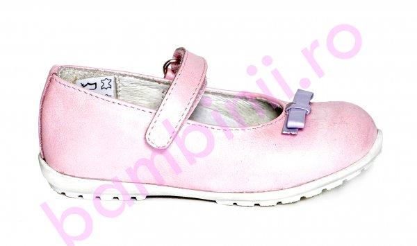 Pantofi balerini fete pj shoes Candy roz 20-26