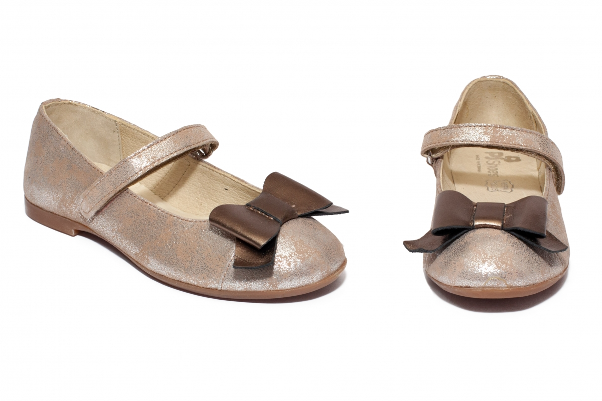 Pantofi balerini fete pj shoes Cherry argintiu 27-36