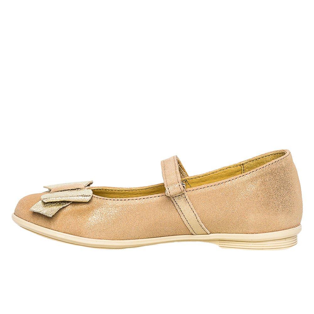 Pantofi balerini fete pj shoes Cherry auriu 27-36