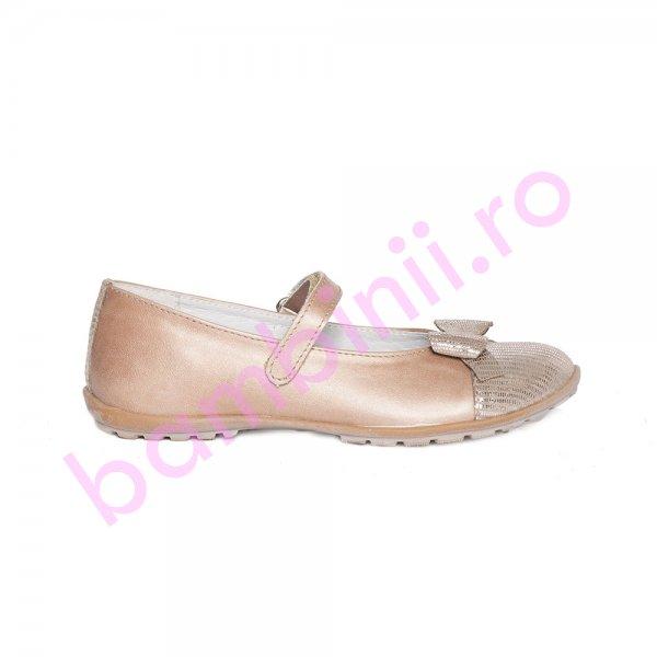 Pantofi balerini fete pj shoes Cherry maro 27-36