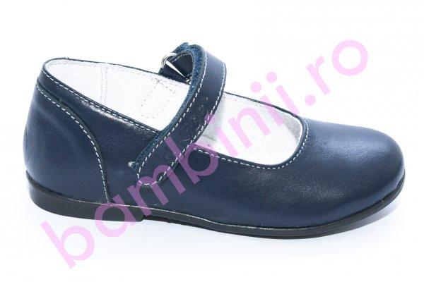 Pantofi balerini fete scoala hokide 272 blu 26-35