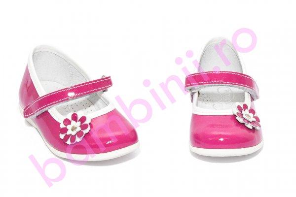Pantofi balerini fetite hokide 304 fuxia lac 22-27