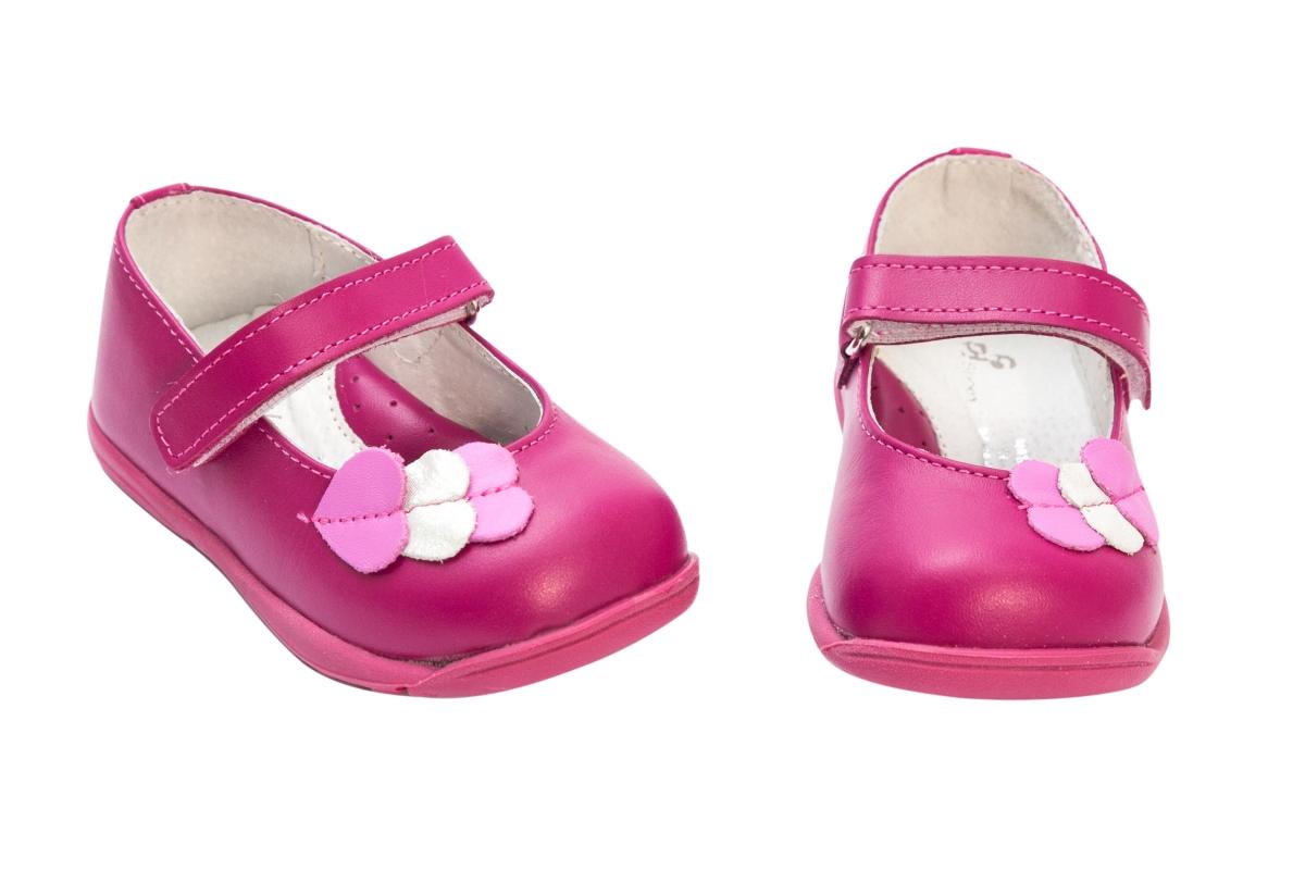 Pantofi balerini pj shoes Candy fuxia 18-26
