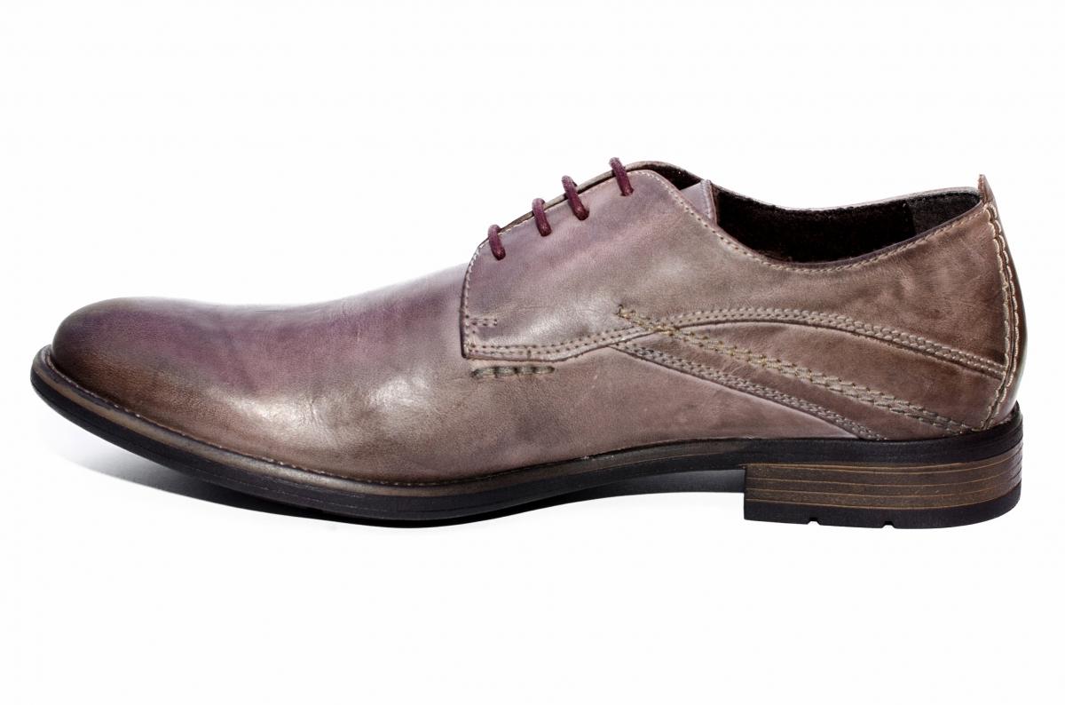 Pantofi barbati BVN piele 2478 maro cafe 40-45