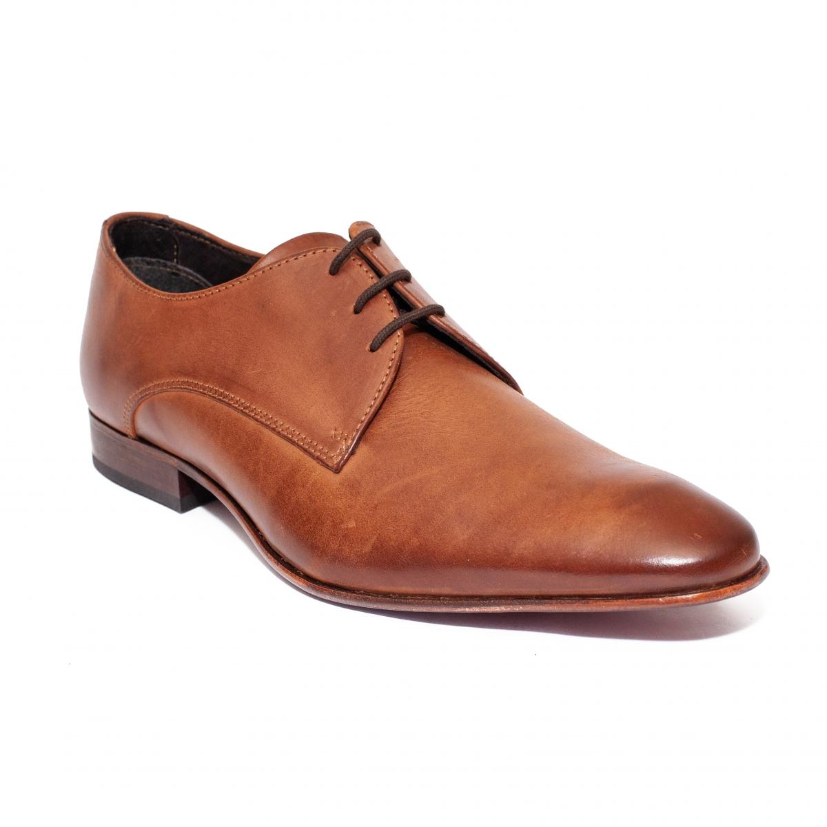 Pantofi barbati Pier one 260R01 maro coniac 40-46