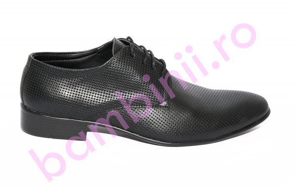 Pantofi barbati eleganti piele Alberto negru 37-45