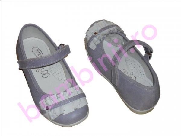 Pantofi piele copii 277 lila