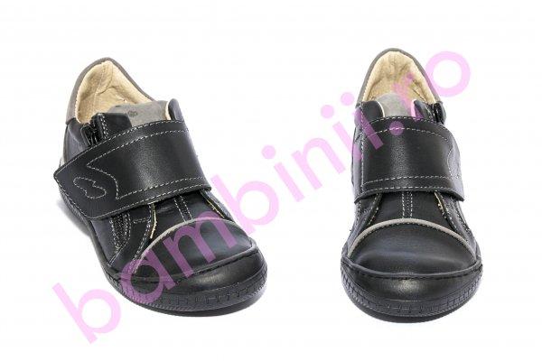 Pantofi copii Goal pj shoes negru gri 26-37