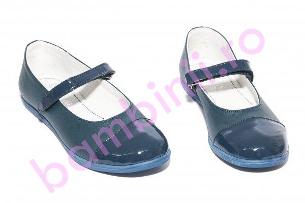 Pantofi copii Pj Shoes Cherry albastru 31-36