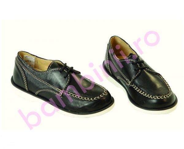 Pantofi copii piele Toni negru