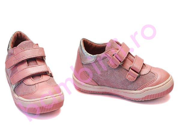 Pantofi copii sport PJ Shoes Costa roz