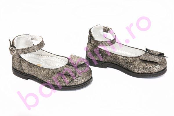 Pantofi copii avus 70 gri auriu 20-27