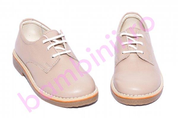 Pantofi copii Denis bej new 24-36