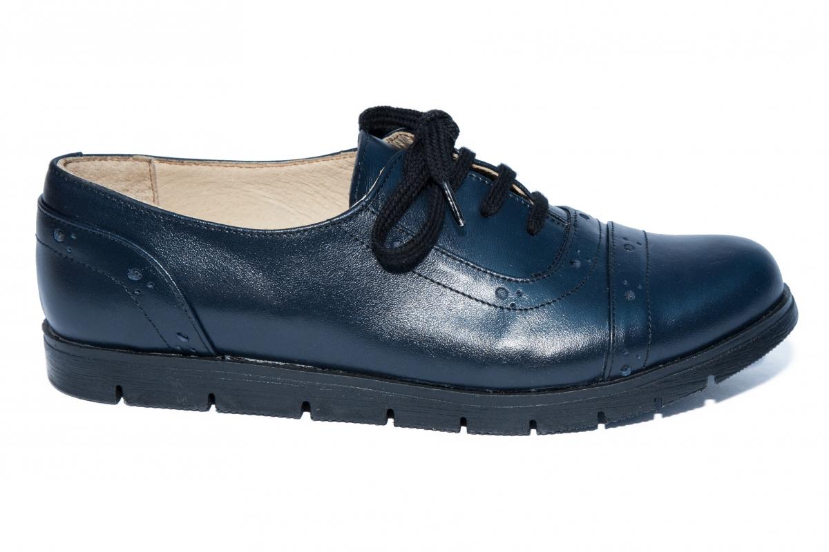 Pantofi copii din piele TS 026s1 blumarin 34-41