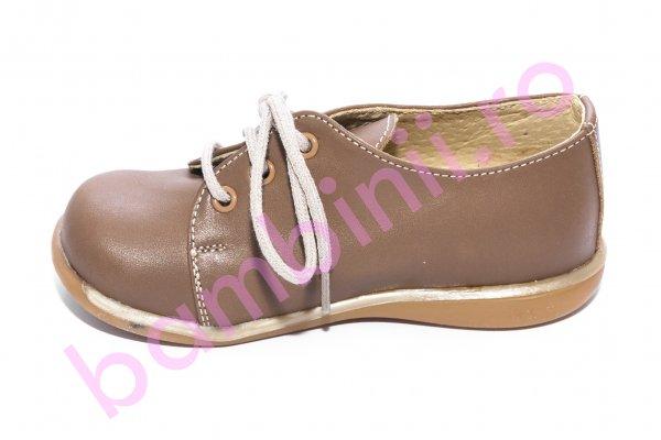 Pantofi copii elegant 288 cafe 18-25