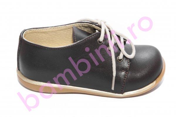 Pantofi copii elegant 288 maro 18-25