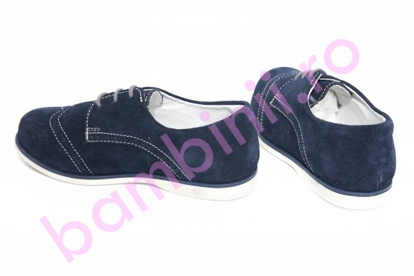Pantofi copii hokide 207 albastru brodat 20-35