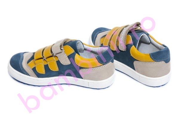 Pantofi copii hokide 560 albastru galben