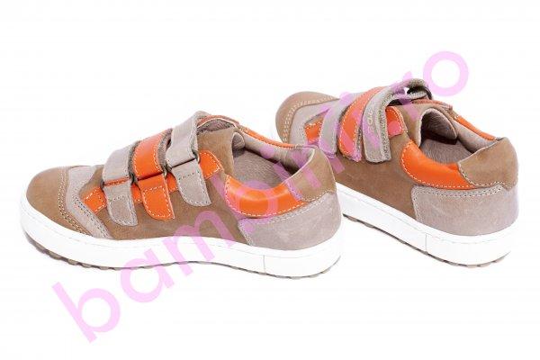Pantofi copii hokide 560 maro portocaliu 26-36